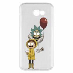 Чехол для Samsung A7 2017 Rick and Morty: It 2