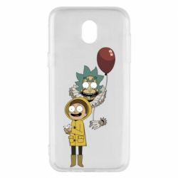 Чехол для Samsung J5 2017 Rick and Morty: It 2