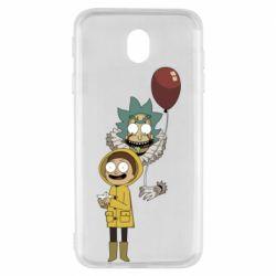 Чехол для Samsung J7 2017 Rick and Morty: It 2
