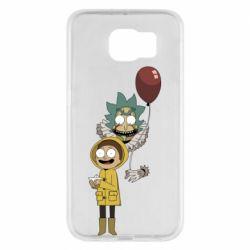 Чехол для Samsung S6 Rick and Morty: It 2
