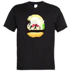 Чоловіча футболка з V-подібним вирізом Rick and Morty Journey