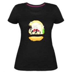 Жіноча стрейчева футболка Rick and Morty Journey