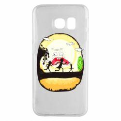 Чохол для Samsung S6 EDGE Rick and Morty Journey