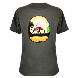 Камуфляжна футболка Rick and Morty Journey