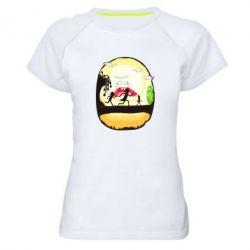 Жіноча спортивна футболка Rick and Morty Journey