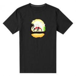 Чоловіча стрейчева футболка Rick and Morty Journey