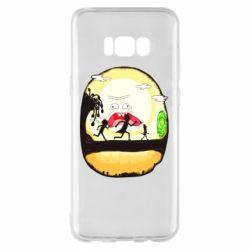 Чохол для Samsung S8+ Rick and Morty Journey