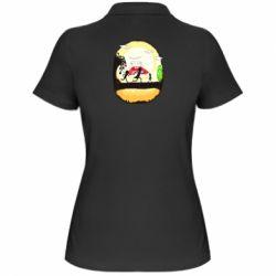 Жіноча футболка поло Rick and Morty Journey