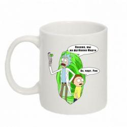Кружка 320ml Rick and Morty Русская версия