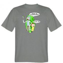 Чоловіча футболка Rick and Morty Русская версия