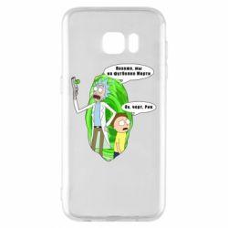 Чохол для Samsung S7 EDGE Rick and Morty Русская версия