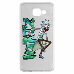Чохол для Samsung A5 2016 Rick and text Morty