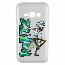 Чохол для Samsung J1 2016 Rick and text Morty