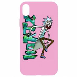 Чохол для iPhone XR Rick and text Morty