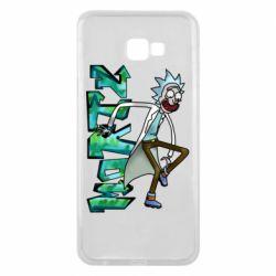 Чохол для Samsung J4 Plus 2018 Rick and text Morty