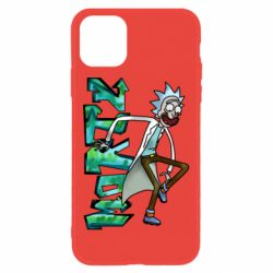 Чохол для iPhone 11 Rick and text Morty