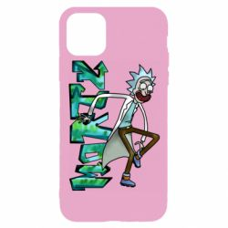 Чохол для iPhone 11 Pro Rick and text Morty