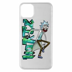 Чохол для iPhone 11 Pro Max Rick and text Morty
