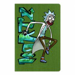 Блокнот А5 Rick and text Morty