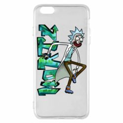 Чохол для iPhone 6 Plus/6S Plus Rick and text Morty
