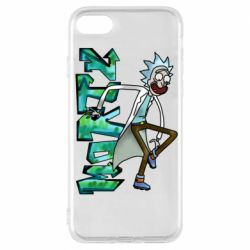Чохол для iPhone 7 Rick and text Morty