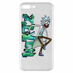 Чохол для iPhone 7 Plus Rick and text Morty