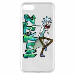 Чохол для iPhone 8 Rick and text Morty