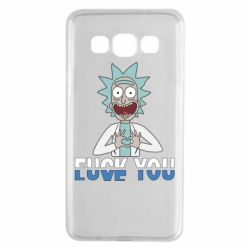 Чехол для Samsung A3 2015 Rick fuck you