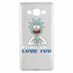 Чехол для Samsung A5 2015 Rick fuck you