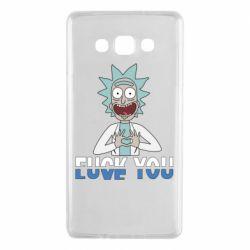 Чехол для Samsung A7 2015 Rick fuck you