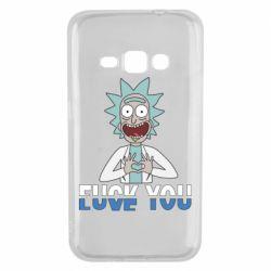 Чехол для Samsung J1 2016 Rick fuck you