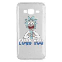 Чехол для Samsung J3 2016 Rick fuck you