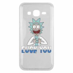 Чехол для Samsung J5 2015 Rick fuck you
