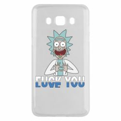 Чехол для Samsung J5 2016 Rick fuck you