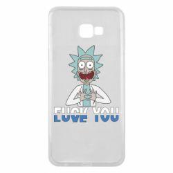 Чехол для Samsung J4 Plus 2018 Rick fuck you