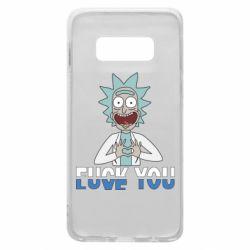 Чехол для Samsung S10e Rick fuck you