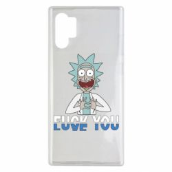 Чехол для Samsung Note 10 Plus Rick fuck you
