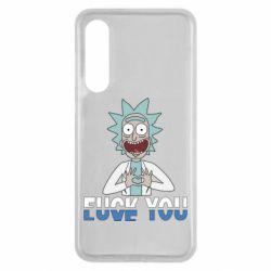 Чехол для Xiaomi Mi9 SE Rick fuck you