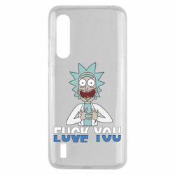 Чехол для Xiaomi Mi9 Lite Rick fuck you