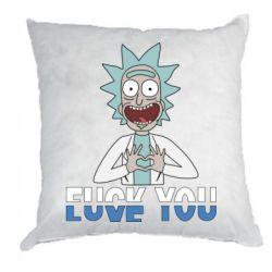 Подушка Rick fuck you