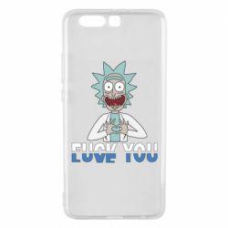Чехол для Samsung A8 2018 Rick fuck you