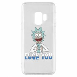 Чехол для Samsung S9 Rick fuck you