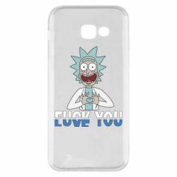 Чехол для Samsung A5 2017 Rick fuck you