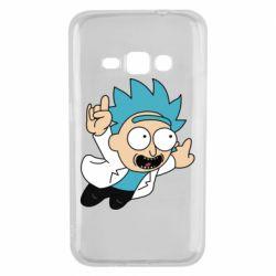 Чехол для Samsung J1 2016 Rick is flying