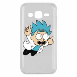 Чехол для Samsung J2 2015 Rick is flying