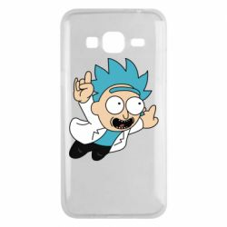 Чехол для Samsung J3 2016 Rick is flying