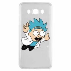 Чехол для Samsung J7 2016 Rick is flying