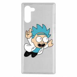 Чехол для Samsung Note 10 Rick is flying