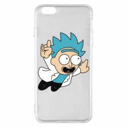 Чехол для iPhone 6 Plus/6S Plus Rick is flying