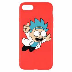Чехол для iPhone 7 Rick is flying